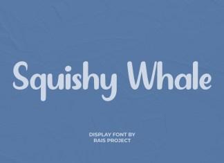 Squishy Whale Script Font