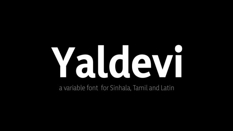 Yaldevi Serif Font