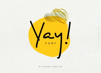 Yay! Handwritten Font