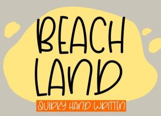 Beach Land Font
