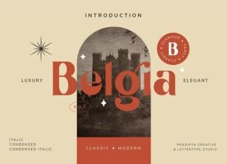 Belgia Serif Font