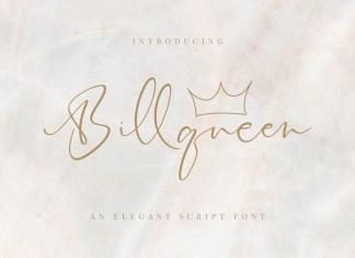 Billqueen Handwritten Font