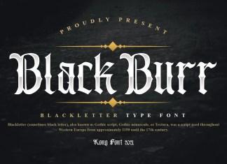 Blackburr Blackletter Font