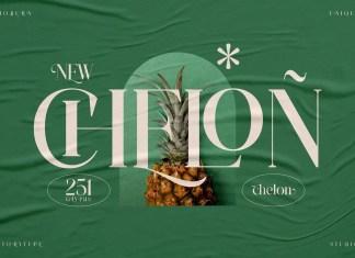 Chelon Serif Font