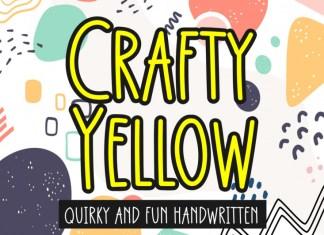 Crafty Yellow Display Font