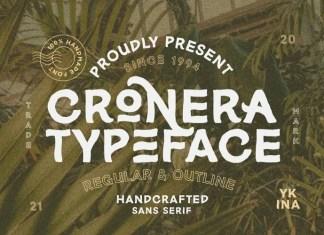 Cronera Display Font