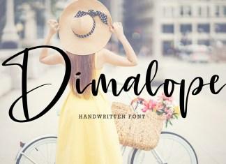 Dimalope Script Font