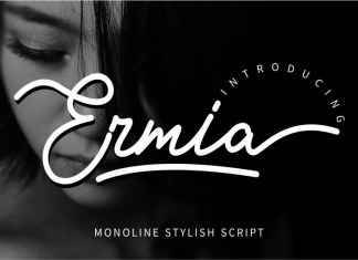 Ermia Script Font
