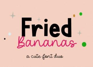 Fried Bananas Font