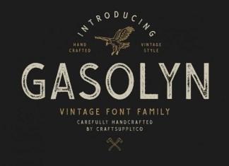 Gasolyn Display Font