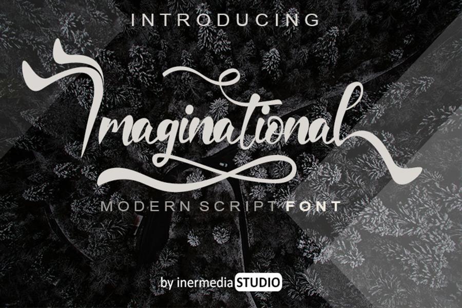 Imaginational Font