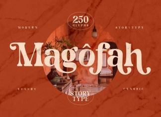 Magofah Serif Font