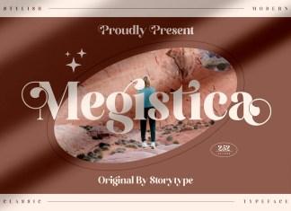 Megistica Serif Font