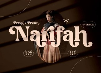 Narifah Serif Font