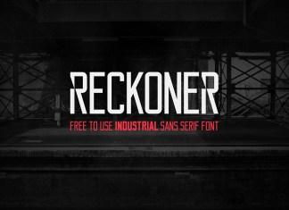 Reckoner Sans Serif Font
