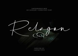Relagon Handwritten Font