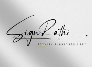 Sign Rathi Handwritten Font