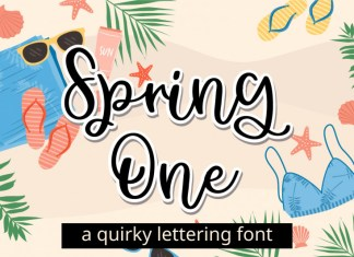 Spring One Font
