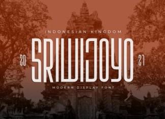 Sriwijoyo Display Font
