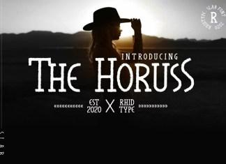 The Horuss Display Font