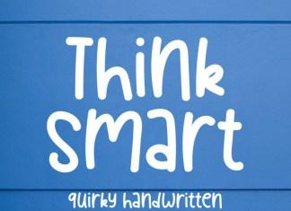 Think Smart Display Font