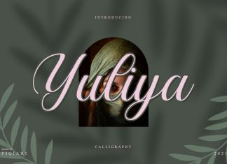 Yuliya Calligraphy Font