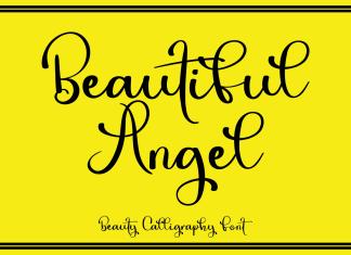 Beautiful Angel Script Font