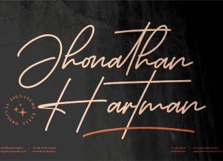 Jhonathan Hartman Font
