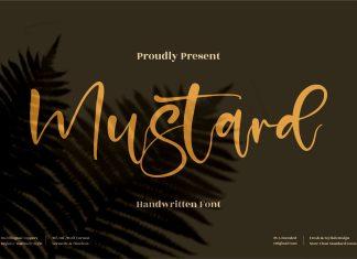 Mustard Script Font