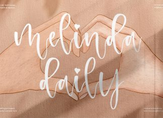 Melinda Daily Font