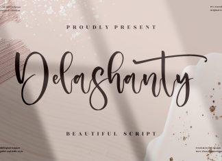 Delashanty Script Font