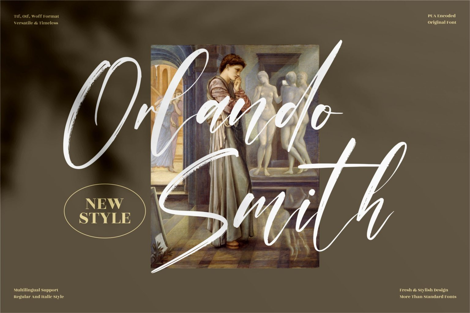 Orlando Smith Script Font