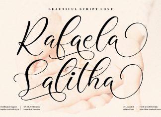 Rafaela Salitha Script Font
