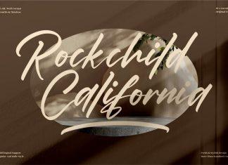 Rockchild California Script Font