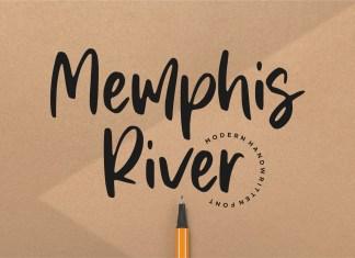 Memphis River Font