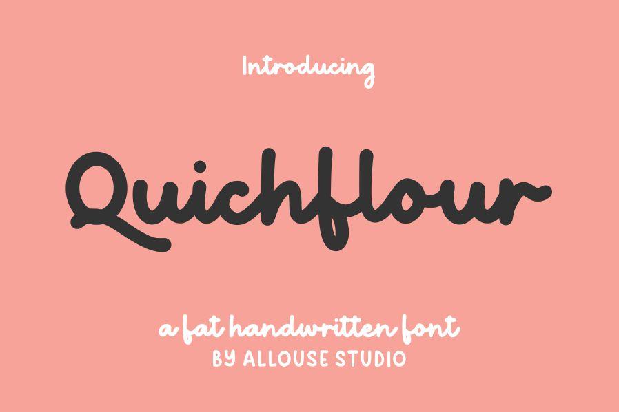 Quichflour Font