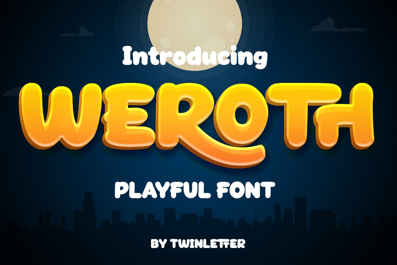 Weroth Display Font