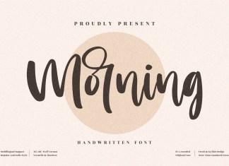 Morning Script Font
