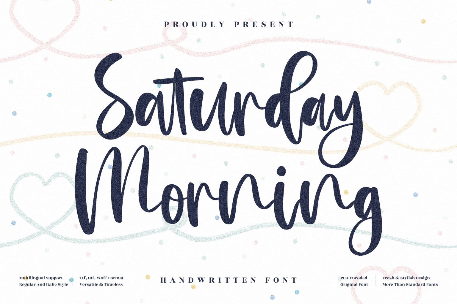Saturday Morning Script Font