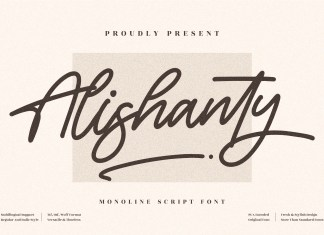 Alishanty Handwritten Font