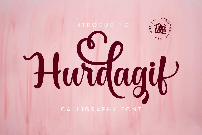 Hurdagif Script Font