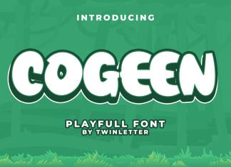 Cogeen Display Font