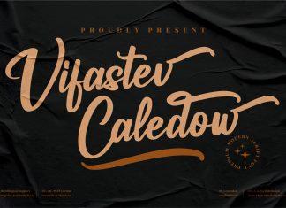 Vifastev Caledow Script Font