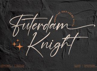 Futerdam Knight Script Font