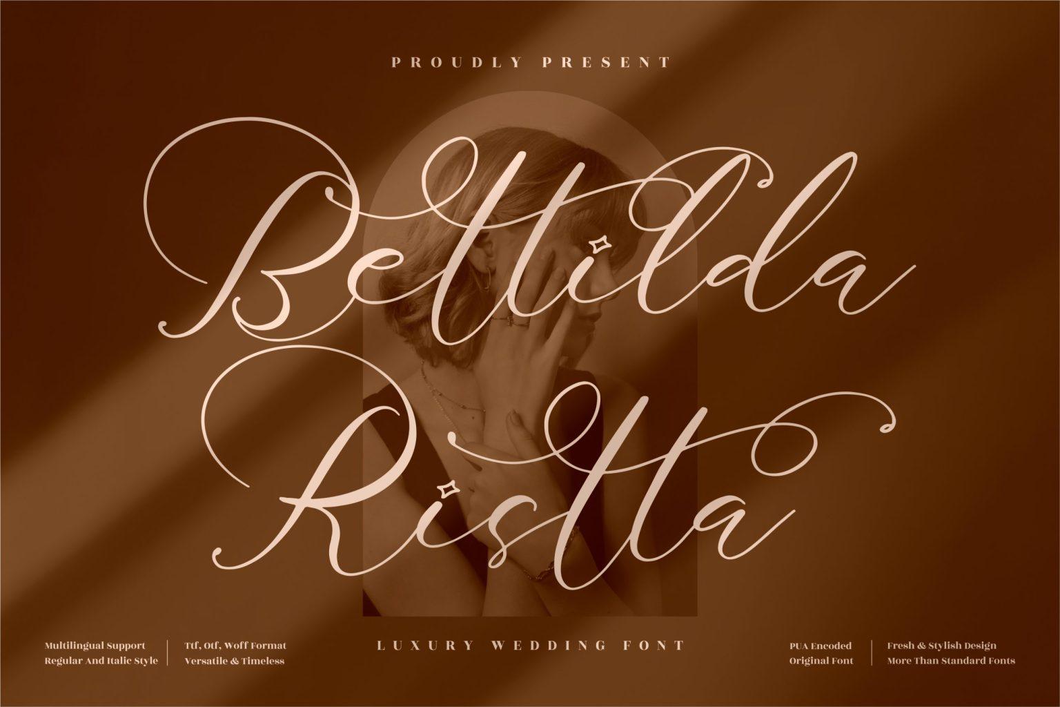 Bettilda Ristta Font
