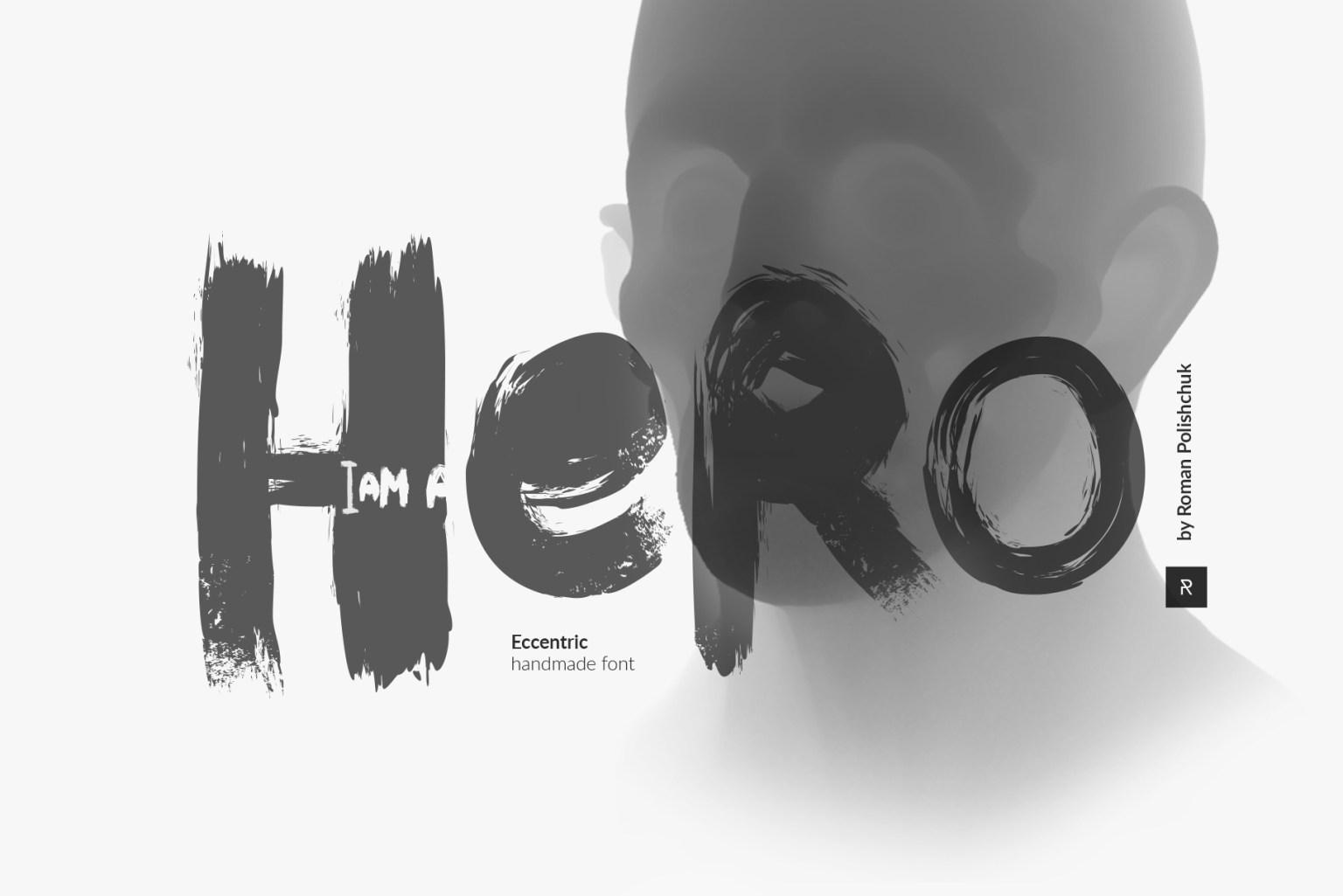 Hero Brush Font