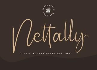 Nettally Script Font