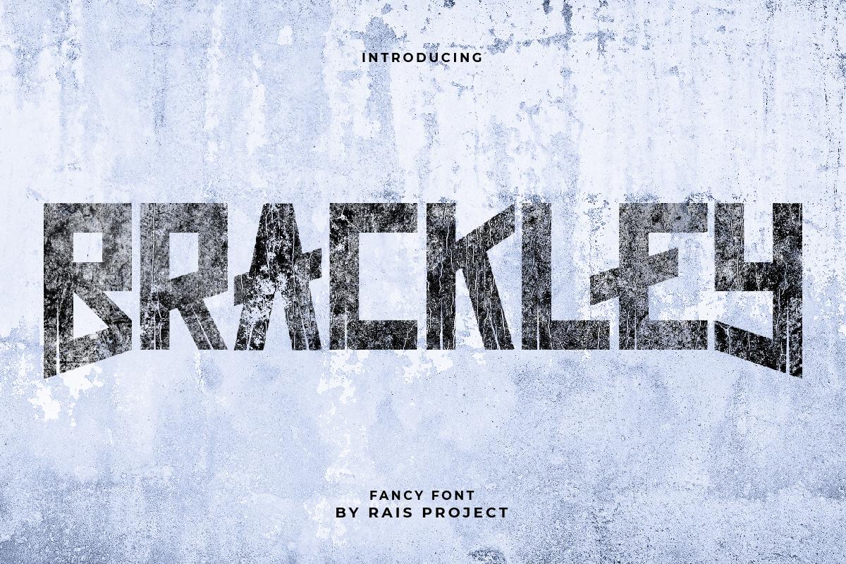Brackley Display Font
