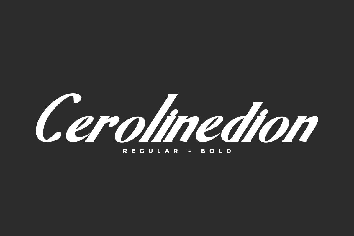 Cerolinedion Serif Font