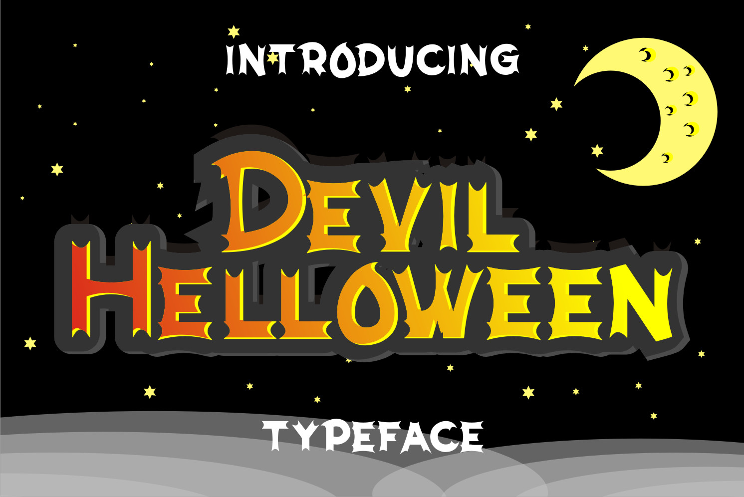 Devil Helloween Display Font